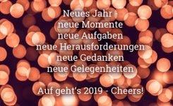 Wir wünschen Ihnen ein wundervolles neues Jahr